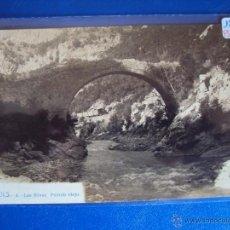 Postales - (PS-46388)POSTAL FOTOGRAFICA DE FIGOLS-LAS MINAS.PUENTE VIEJO - 51228995