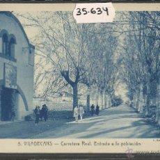 Postales: VILADECANS - 5 - ENTRADA - ROISIN - (35634). Lote 51233363