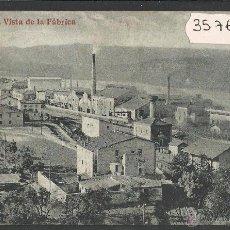 Postales: FLIX - VISTA DE LA FABRICA - (35766). Lote 51356000
