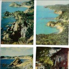 Postales: P-2495. LOTE 12 POSTALES LA COSTA BRAVA EN FOTOCOLOR.. Lote 51357077