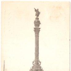 Postales: BARCELONA MONUMENTO A COLÓN 1908. Lote 3254234