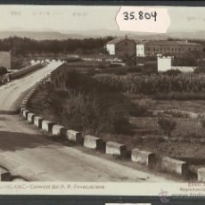 Postales: MONTBLANC - 10 - CONVENT DEL P.P. FRANCESCANS - FOTOGRAFICA ED· BALDRIC - (35804). Lote 51405559
