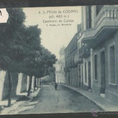 Postales: SANT FELIU DE CODINES - 4 - CARRETERA DE CALDES - ROISIN - (35939). Lote 51443694