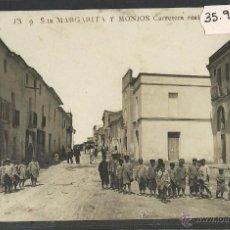 Postales: SANTA MARGARIDA I ELS MONJOS - JB 9 - CARRETERA REAL - FOTOGRAFICA - (35954). Lote 51454410