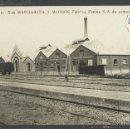 Postales: SANTA MARGARIDA I ELS MONJOS - JB 11 - FABRICA S.A. CEMENTOS - FERROCARRIL - FOTOGRAFICA - (35955). Lote 51454439