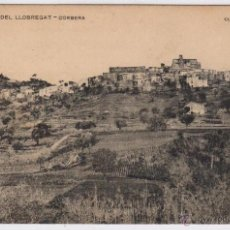 Postales: CORBERA DE LLOBREGAT - POSTAL PLÁ DEL LLOBREGAT - CLIXÉ RIUS. Lote 51510483