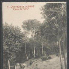 Postales: SANT FELIU DE CODINES - FUENTE DE VILLA - 11499. Lote 51570053