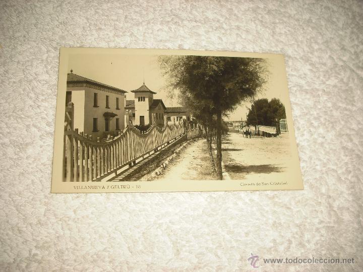VILLANUEVA Y GELTRU 18 , CHALETS DE SAN CRISTOBAL (Postales - España - Cataluña Antigua (hasta 1939))