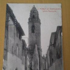 Postales: POBLA DE MONTORNES , IGLESIA PARROQUIAL - 5. Lote 51716365