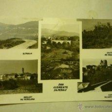 Postales: POSTAL SAN CLEMENTE DE SASEBAS-Y PUEBLOS ALREDEDORES--ESCRITA BB. Lote 51774904