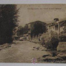 Postales: ANTIGUAL POSTAL DE CAMPRODON - CONFLUENCIA DEL TER Y DEL RITORT. Lote 51791391