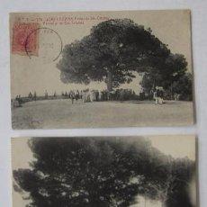 Postales: DOS ANTIGUAS POSTALES DE LLORET DE MAR, SANTA CRISTINA. Lote 51791805