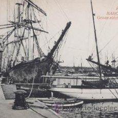 Postales: R.S.A. BARCELONA GRUAS ELÉCTRICAS DEL PUERTO. Lote 51809570