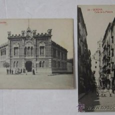 Postales: DOS ANTIGUAS POSTALES DE GERONA / GIRONA - ED. FOTOTIPIA THOMAS. Lote 51815554