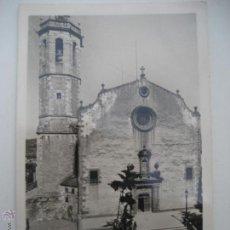 Postales: CENTELLAS Nª 3 IGLESIA PARROQUIAL. ED. GUILERA. CIRCULADA 1948. Lote 51826264