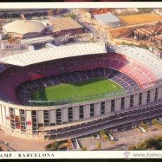 Postales: BARCELONA.- L'ESTADI DEL CLUB DE FUTBOL BARCELONA, CONEGUT COM A NOU CAMP.. Lote 55051581