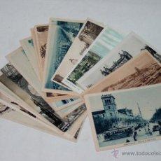 Postales: LOTE 21 POSTALES BARCELONA. CATALUÑA. CIRCA 1930 Y ALGUNA ANTERIOR.. Lote 51935324