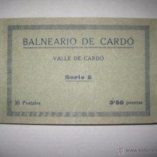 Postales: BALNEARIO VALLE DE CARDO - BLOCK 20 POSTALES COMPLETO- VDA. TASSO - VER FOTOS - (ZB - 3193). Lote 51963240