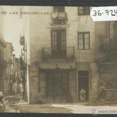 Postales: VALLS - PLAÇA DE LES ESCUDELLES - FOTOGRAFICA - (36724). Lote 51963645
