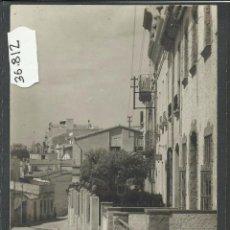 Postales: MASNOU - CARRER SANT FRANCESC - FOT· T. TORRES - (36812). Lote 52103993