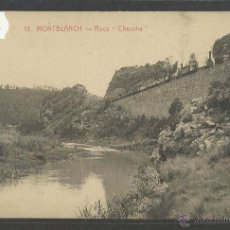 Postales: MONTBLANC - 15 - ROCA CHANCHA - FERROCARRIL - ROISIN - (36891). Lote 52140136