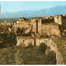 Postales: TORTOSA TARRAGONA CASTILLO LA ZUDA. POSTAL ESCUDO DE ORO DE 1973. Lote 52166918