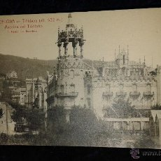 Postales: LOTE 15 ANTIGUAS POSTALES TIBIDABO, BARCELONA, SIN ESCRIBIR. Lote 52275087