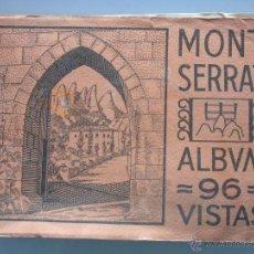 Postales: ÁLBUM LIBRO DE 96 FOTOS POSTALES DE MONTSERRAT, BARCELONA. VISTAS. HUECOGRABADO RIEUSSET. . Lote 52281949