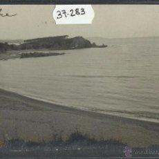 Postales: SANT FELIU DE GUIXOLS - PLAYA DE LA COMA - FOTOGRAFICA - (37283). Lote 52350508