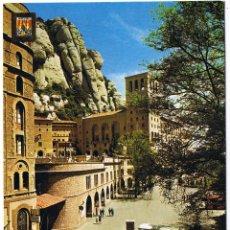 Postales: BARCELONA - MONTSERRAT - MONASTERIO - CIRCULADA. Lote 52414487