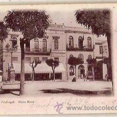 Postales: ANTIGUA POSTAL 18 PALAFRUGELL PLASSA NOVA J JOANOLA ESCRITA 1904 . Lote 52420010