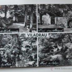 Postales: VILADRAU. DETALLE FUENTES. ED. A. ZERKOWITZ. Lote 52559425