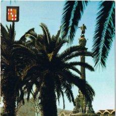 Postales: BARCELONA - MONUMENTO CRISTOBAL COLON. Lote 52592089