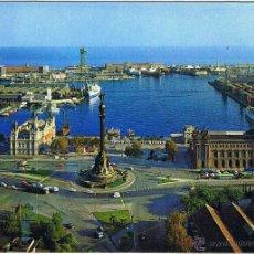 Postales: BARCELONA - MONUMENTO CRISTOBAL COLON. Lote 52592100