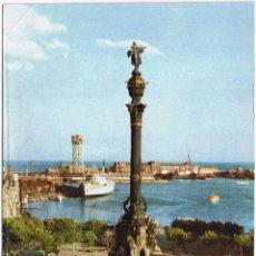 Postales: BARCELONA - MONUMENTO CRISTOBAL COLON - CIRCULADA. Lote 52632953