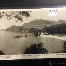Postales: LLORET DE MAR - PLAYA DE SANTA CRISTINA - FOTOGRAFICA - (38542). Lote 52736059