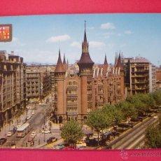 Postales: POSTAL DE BARCELONA - AVENIDA DEL GENERALISIMO, LES PUNXES - FOTOGRAFO ESCUDO DE ORO.. R - 393. Lote 52743829