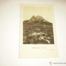 Postales: PEDRAFORCA -SALVAS . FOTO CARDONA , CIRCULADA. Lote 52752197