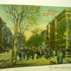 Postales: POSTAL RSA. BARCELONA RAMBLA DE LAS FLORES .-BB. Lote 52805850