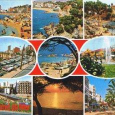 Postales: GERONA - LLORET DE MAR - CIRCULADA. Lote 52876655