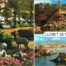 Postales: GERONA - LLORET DE MAR - CIRCULADA. Lote 52876665