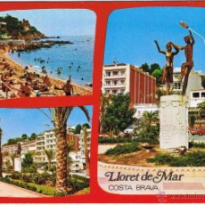 Postales: GERONA - LLORET DE MAR - CIRCULADA. Lote 52876863