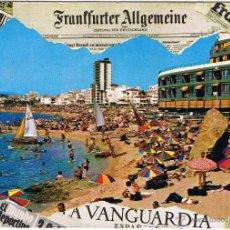Postales: GERONA - LLORET DE MAR - CIRCULADA. Lote 52877052
