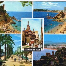Postales: GERONA - LLORET DE MAR - CIRCULADA. Lote 52878211