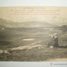 Postales: FOTO POSTAL VALLE DE ARAN. SALARDU. VISTA DEL LLANO DE BERET. EDI. L.F. TOULOUSE. SIN CIRCULAR. Lote 52885555