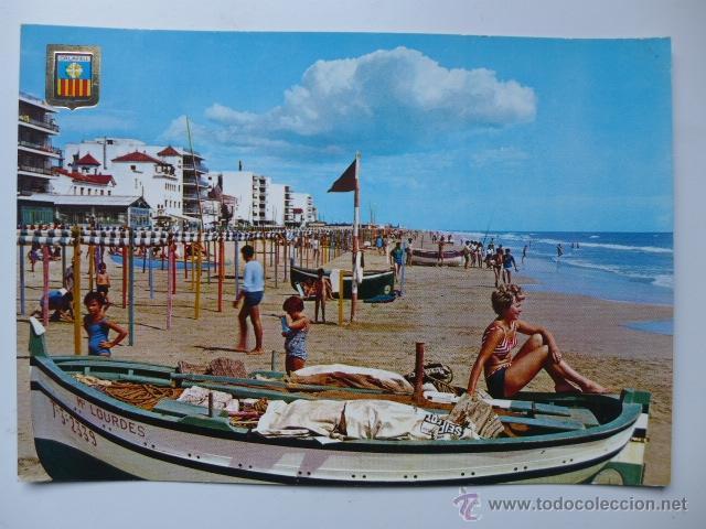 CALAFELL (BAIX PENEDÈS). PLAYA. PLATJA. (Postales - España - Cataluña Moderna (desde 1940))