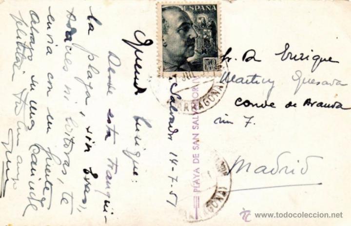 Postales: POSTAL FOTOGRAFICA DE VENDRELL-PLAYA DE SAN SALVADOR - Foto 2 - 52933414