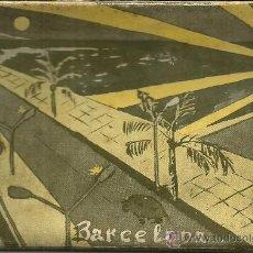 Postales: DESPLEGABLE DE 10 POSTALES DE BARCELONA - COLECCIÓN DE ZERKOWITZ. SERIE I I. - 50'S. Lote 83772199