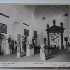 Postales: MARTORELL. MUSEO. MUSEU. NAVE CENTRAL. FOTO PORTA. Lote 53018663