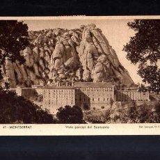Postales: POSTAL DE MONTSERRAT. 1949. CIRCULADA. Lote 53026702